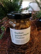 Gurken grüner Pfeffer Chutney