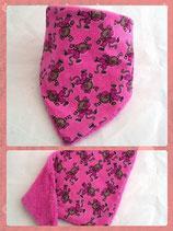 Dreieckstuch Affe pink