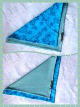 Wendetuch Dino blau/grün