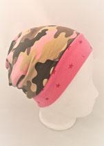 Beanie Comeoflage rosa