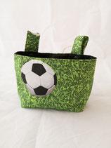 Roller / Laufrad- Tasche Fussball grün