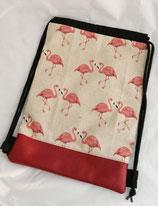 Turnbeutel/Rucksack Flamingo