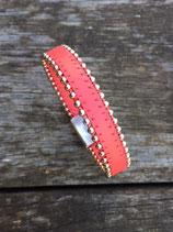 Bracelet bille corail