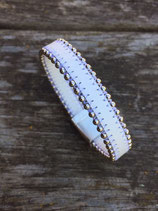 Bracelet bille blanc