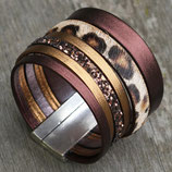 Bracelet manchette XL Oriane