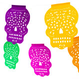 "Girlande bunt ""Calavera"" medium"