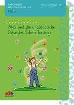 """Paket """"Max und die unglaubliche Reise des Schmetterlings: 4 Arbeitsbücher, kein Antwortbuch"""