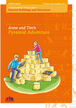 "Teacher`s manual guide ""Anne and Tim`s Pyramid Adventure"" from the Series ""Famous Buildings and Structures"""