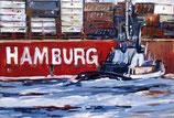 """Bild """"Schlepper Hamburg"""""""