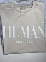 HUMAN since Shirt beige