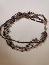 Halskette - Amethyst
