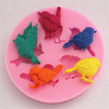 Silicone Birds Mold
