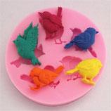 Silicone Birds Mold