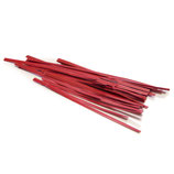 Red Paper Twist Ties, 72