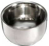 Stainless Steel Shaving Bowls, Each