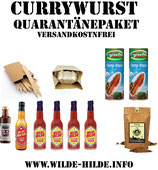 Wilde Hilde Currywurst Quarantäne Box