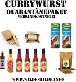 Wilde Hilde Currywurst Quarantäne Box