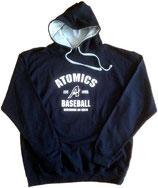 """Hoodie Navy """"Atomics EST 1995"""""""