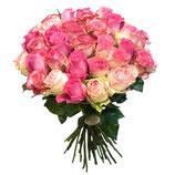 rosa-pastell Rosen (60cm)