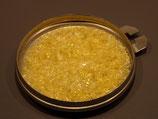 Grenailles Soyer rouge transparent ( jaune avant cuisson )