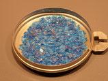 Grenailles Soyer N°186 bleu turquoise