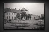 Blick aufs Rathaus Oschersleben um 1960