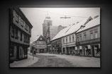 Sicht auf die Sankt-Nicolai-Kirche um 1960