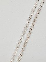 Erbsenkette Silber 1,8 mm