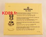 Coffret Bergeon 5538 de 6 tasseaux pour montre Rolex