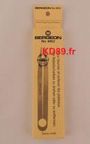 Brucelles pour tourner et enlever les plateaux BERGEON 4852