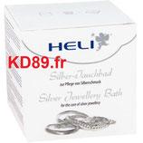 Heli nettoyant pour bijoux argent pot 150 ml +chamoisine