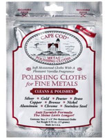 CAPE COD® METAL POLISHING CLOTHS 8821