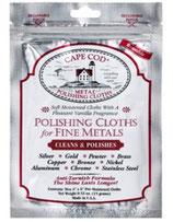 CAPE COD® METAL POLISHING CLOTHS 8821