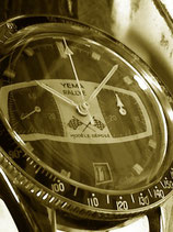 Verre pour montre YEMA Rallye chronographe