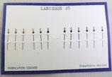 Aiguille de Chronographe centrale Landeron/ lemania 15 TL 27CH
