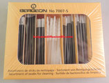assortiment de sticks de nettoyage Bergeon 7007-S