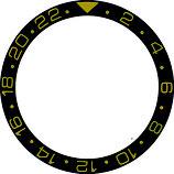 Bague de lunette Bezel pour Rolex 16718-1