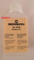 Produit de nettoyage Bergeon 6438 pour circuits quartz