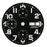 Cadran noir ø 31,30 mm