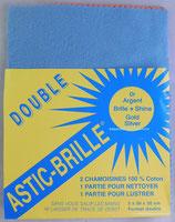 """Chiffon ASTIC BRILLE pour l'Or & l'Argent """"Double"""""""