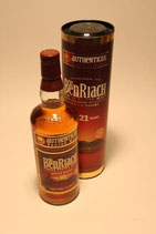 GP- BenRiach Authenticus 21 Jahre