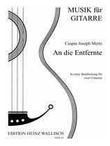 Caspar J. Mertz: An die Entfernte