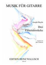 Haydn Joseph : Drei Flötenuhrstücke