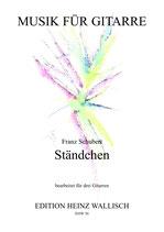 Schubert Franz : Ständchen (3Git)