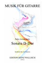 Padre A. Soler: Sonate D-Dur
