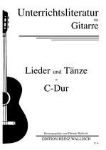 Lieder und Tänze in C-Dur