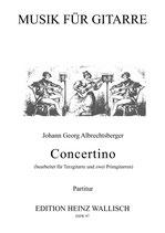 Albrechtsberger, Johann Georg: Concertino