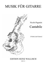 Nicolo Paganini: Cantabile