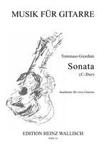 Tommaso Giordani: Sonata C-Dur