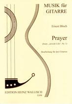 "Bloch, Ernest: Prayer (from ""Jewish Life"", Nr. 1)"